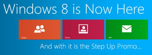 Windows 8 Step up Promo