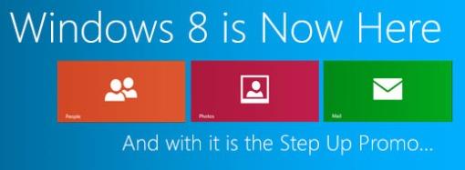 Windows 8 Step up Promo